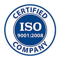 ISO 9000:2008 Certified Company